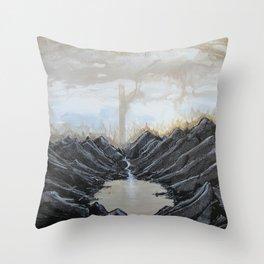 Raiment of Dusk Throw Pillow