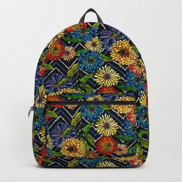 Chrissy Flowers Bohemian Backpack