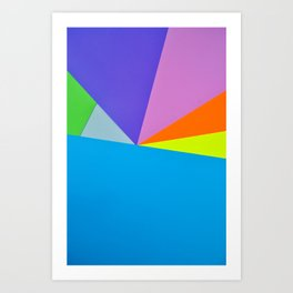 Paper Play 4 Art Print