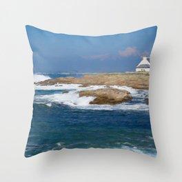 South Bretagne Throw Pillow