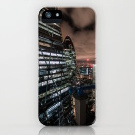 London, The City iPhone Case