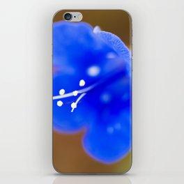 Desert Bluebell iPhone Skin