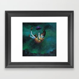 Saw This Coming Framed Art Print
