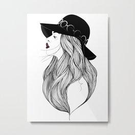 AMIE Metal Print