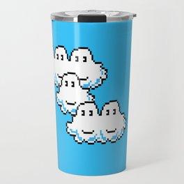 Super Mario Clouds Travel Mug