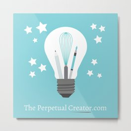 The Perpetual Creator Logo Metal Print