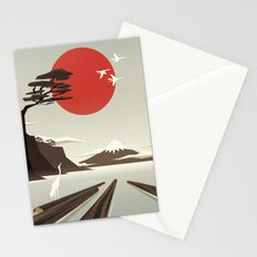 3 vacant logs Stationery Cards