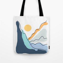 Minimalistic Landscape II Tote Bag