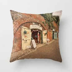 Exeter under the Arches Throw Pillow
