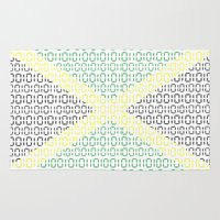 jamaica Area & Throw Rugs featuring digital Flag (Jamaica) by seb mcnulty