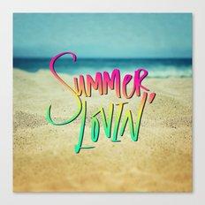 Summer Lovin' x Hawaii Canvas Print