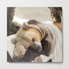 Sweet dreams, Mr Bear Metal Print