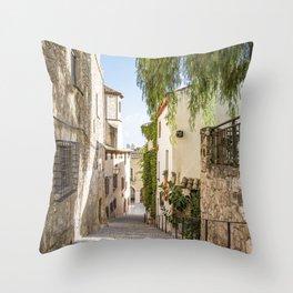 Beautiful Spanish Village Throw Pillow