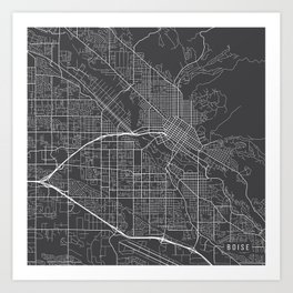 Boise Art Prints | Society6
