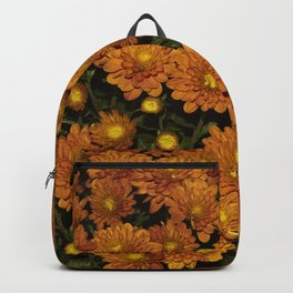 October Mums flowers Backpack