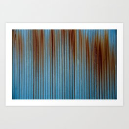 Rusted Steel Art Print