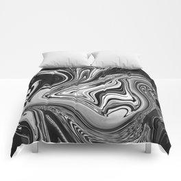 LOST IN BANGKOK - BLACK Comforters