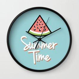 Watermelon summer time Wall Clock