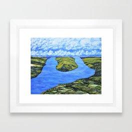 Bluff Point at Keuka Lake Framed Art Print