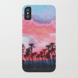 Coachella Sunset iPhone Case