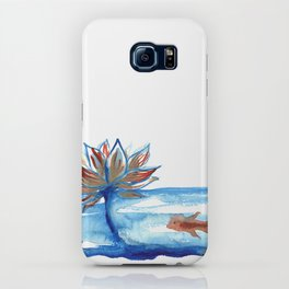 The Lotus and the Goldfish iPhone Case