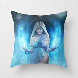 The Snow Queen Throw Pillow