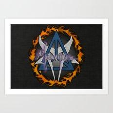 Mudvayne Logos Art Print