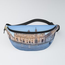 St. Peter's Square in Vatican City - Rome, Italy Fanny Pack