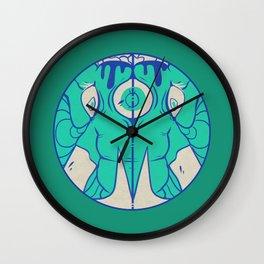 Third Eye Elephant Wall Clock