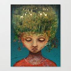 Quietly Wild Canvas Print