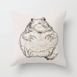 Draw Me Like One Of Your French Frogs Throw Pillow