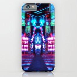 NEO TOKYO GLITCH iPhone Case