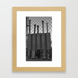 VIP Parking Only Framed Art Print