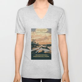 The Massasauga Park Poster Unisex V-Neck