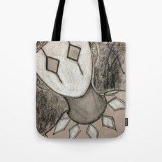 portrait of a harlequin Tote Bag