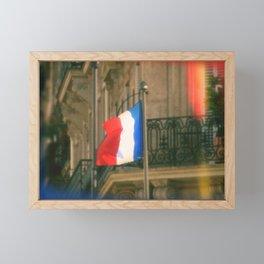 Liberty, Equality, Fraternity Framed Mini Art Print