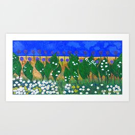 The Lily of the Valley  Art Print