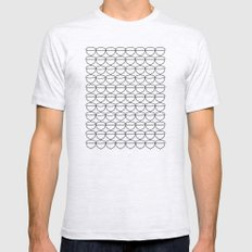 Acorns Ash Grey X-LARGE Mens Fitted Tee