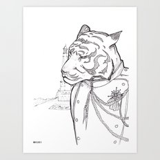 General Rakshasa Art Print