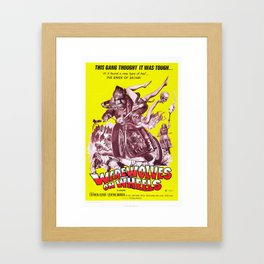 Werewolves on Wheels Framed Art Print