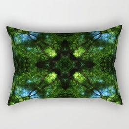 Project 130.5 - Abstract Photomontage Rectangular Pillow