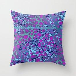 Vibrant Sponges 6.0 Throw Pillow