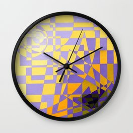Abstract Art Pattern Wall Clock