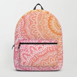 Sunset mandala Backpack