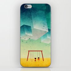 They're Coming (The Cubes) iPhone & iPod Skin