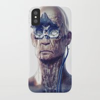 android iPhone & iPod Cases featuring Android by Ben Mauro