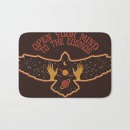 OPEN YOUR MIND TO THE COSMOS Bath Mat