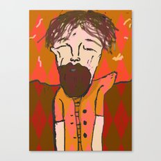 iron and wine  Canvas Print