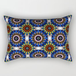 The Damascus pattern . Rectangular Pillow