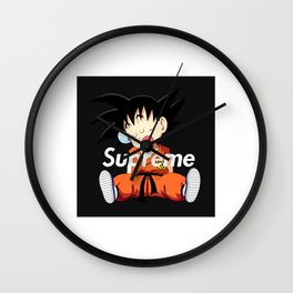 goku sleep Wall Clock